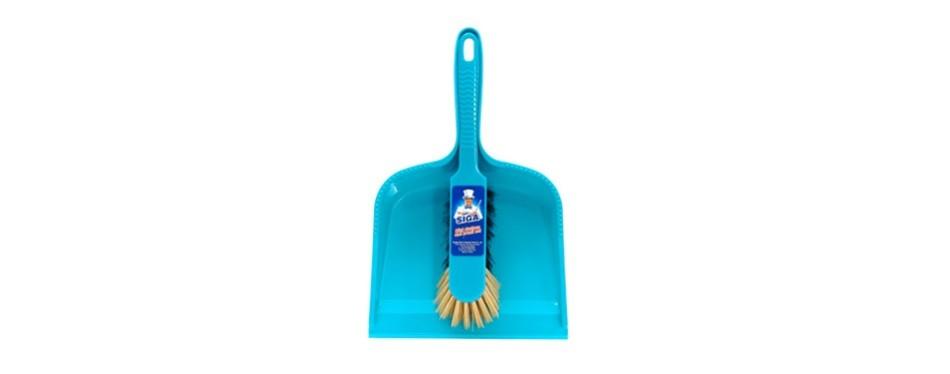 mr. siga dustpan and brush set