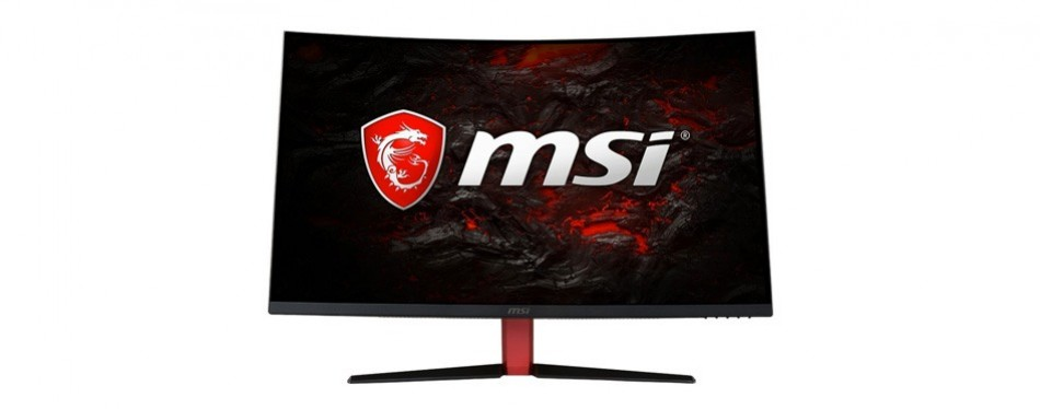 msi 32-inch curved led gaming monitor