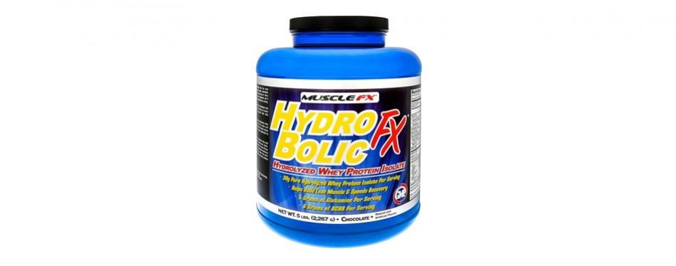 muscle fx hydrobolic fx whey protein