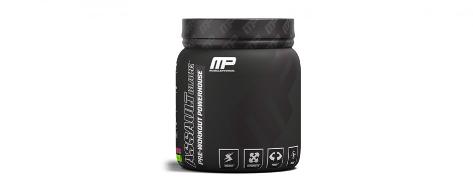musclepharm assault pre-workout supplement