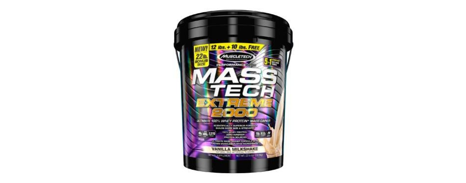 muscletech mass tech extreme mass gainer