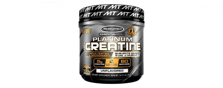 muscletech platinum creatine monohydrate powder