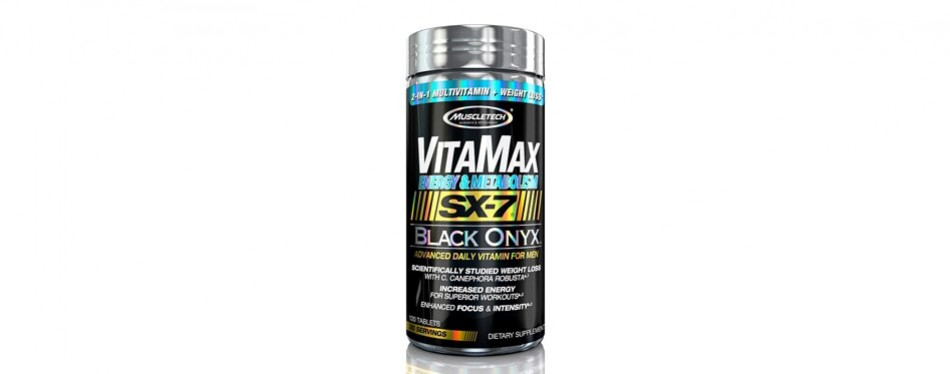 muscletech vitamax onyx multivitamins for men