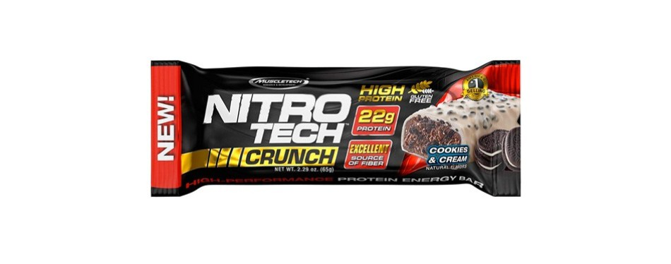 muscletechnitrotech protein bar