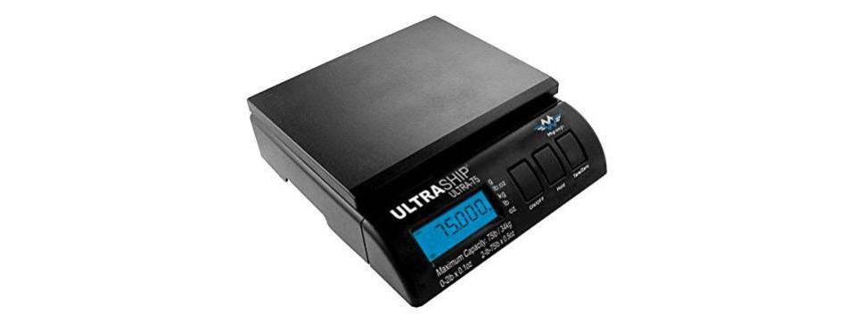 my weigh ultraship 75lb electronic digital shipping postal scale