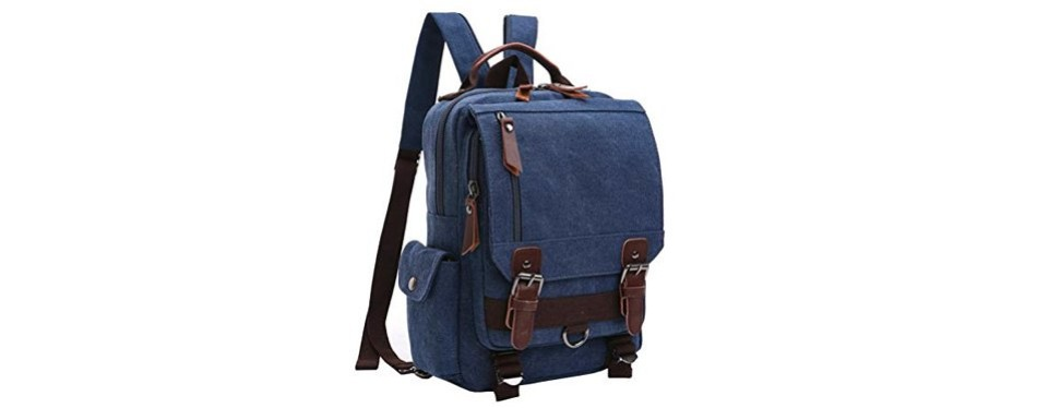 mygreen canvas cross body messenger bag