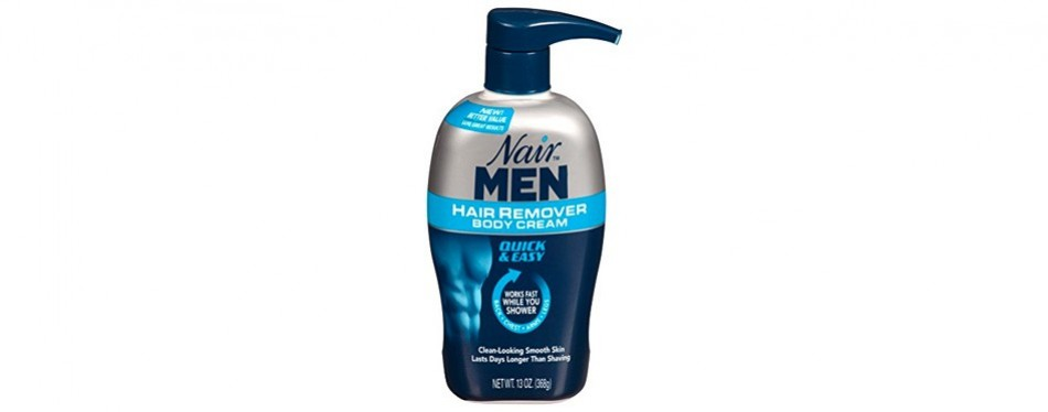 nair hair removal cream for men