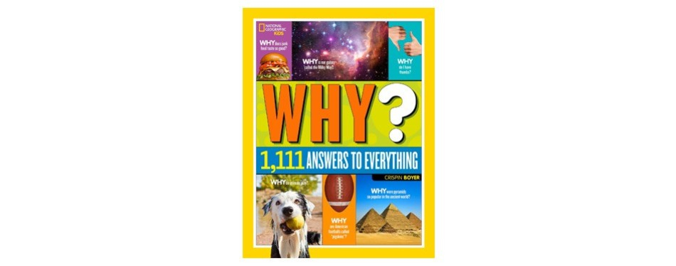 national geographic kids why, 1111 answers to everything