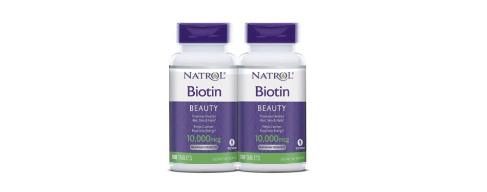 natrol biotin beauty tablets