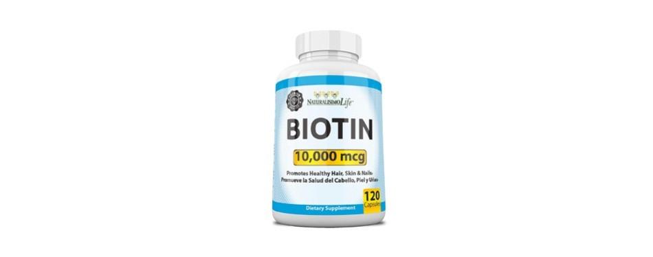 naturalisimo life 10,000 mcg biotin