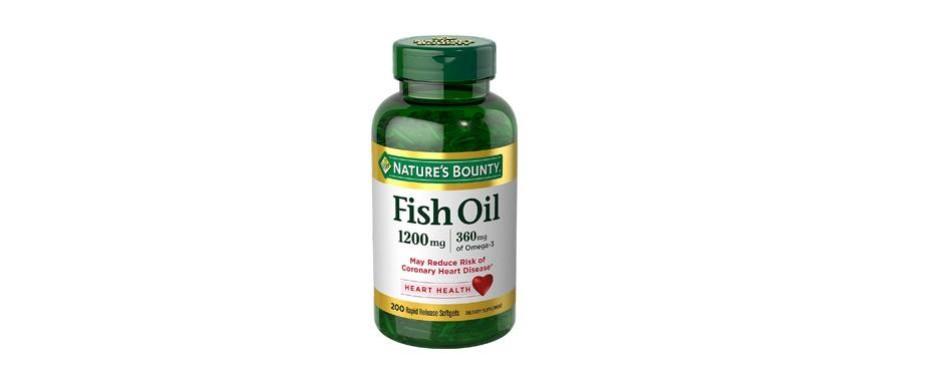 nature's bounty fish oil omega-3
