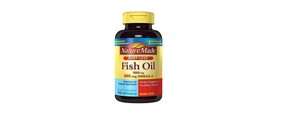 nature made burpless fish oil