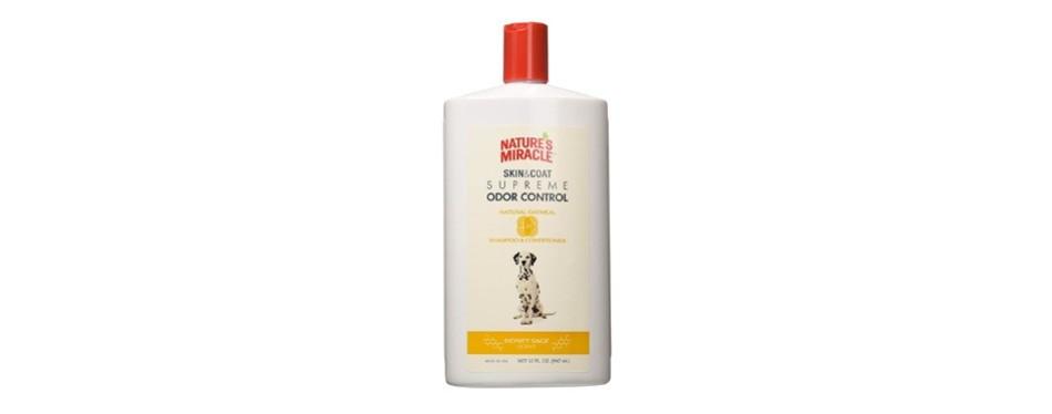 nature's miracle natural oatmeal shampoo