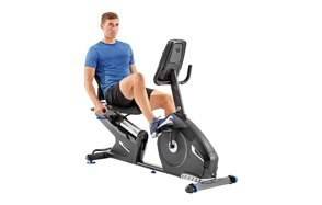nautilus recumbent exercise bike series