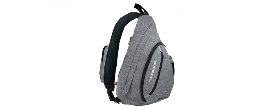 neatpack canvas sling bag