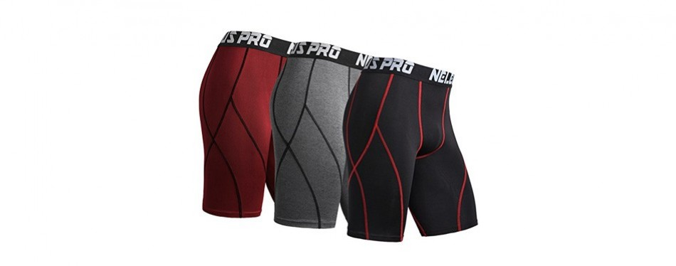 neleus men's sport compression underwear