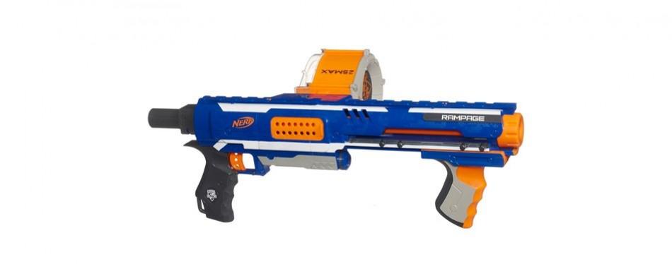 nerf n-strike elite rampage blaster