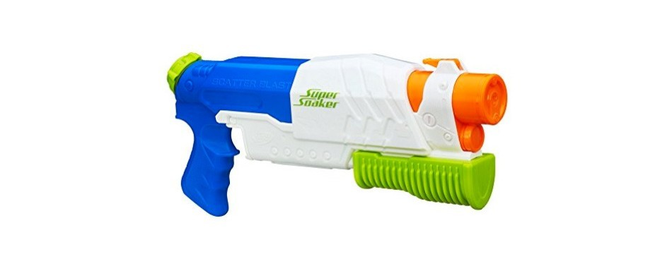 nerf super soaker scatterblast water gun