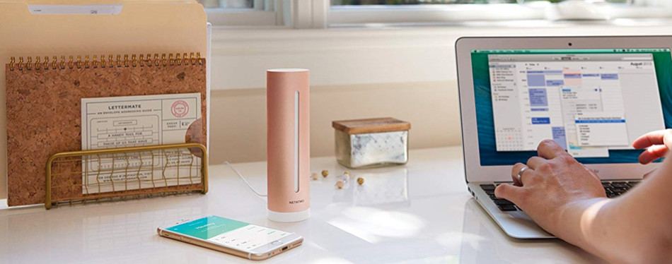 netatmo smart indoor air quality monitor
