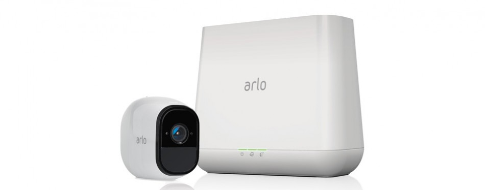 netgear arlo pro security system with siren