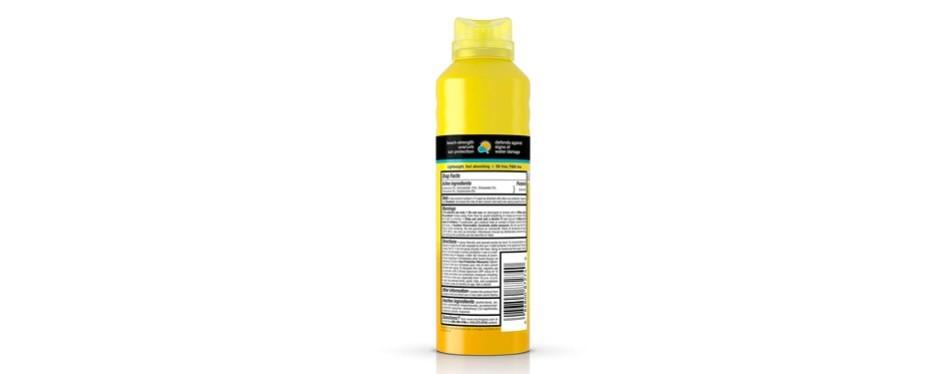 neutrogena beach defense spray sunscreen spf 70