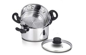 nevlers stainless steel 3-quart steamer pot