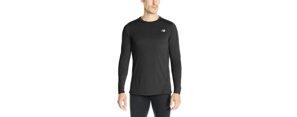 new balance men's accelerate long-sleeve shirt