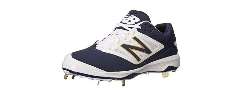 new balance men's l4040v3 cleat baseball shoe