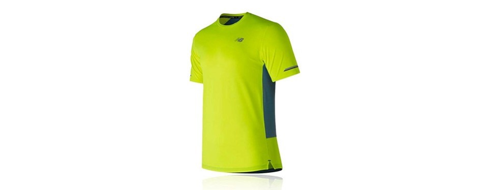 new balance men's nb ice 2e short sleeve