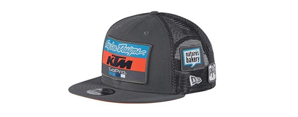 new era troy lee designs ktm team snapback