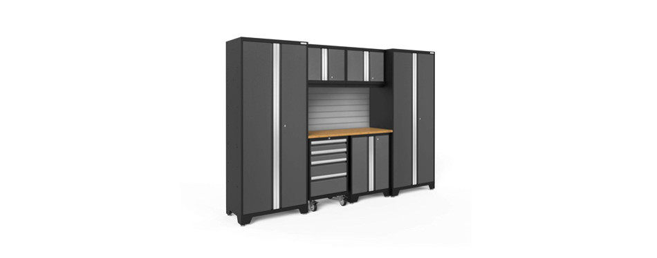 newage products bold 3.0 7 piece storage cabinet
