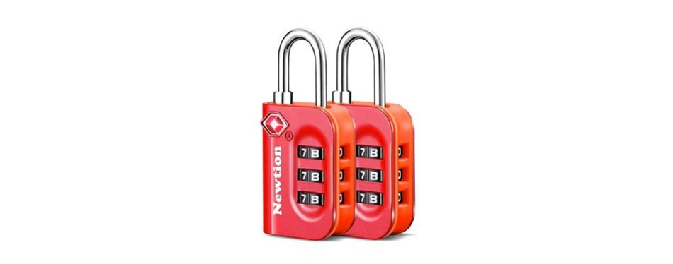 newton luggage lock
