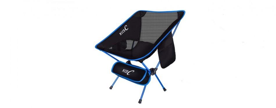 nicec ultralight portable folding chair