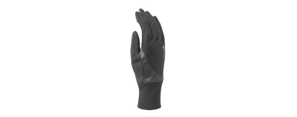 nike men's dry-fit tailwind run gloves