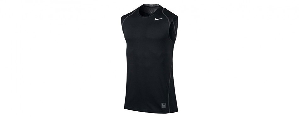 timeless design 55eb9 50a1a nike men s pro cool dri-fit fitted sleeveless training shirt