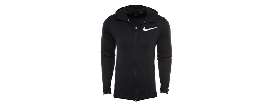 nike men's showtime basketball hoodie