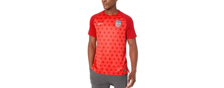 nike men's soccer us dri-fit soccer top