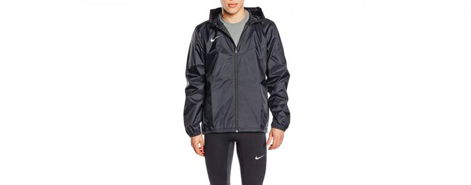 nike soccer team sideline rain jacket