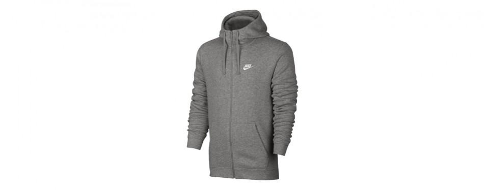 nike sportswear full zip club hoodie