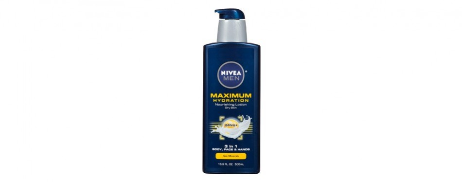 nivea men's maximum hydration