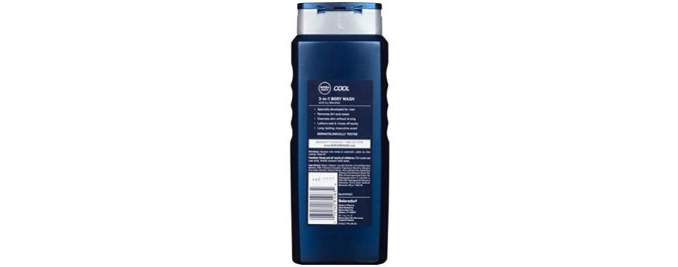 nivea men energy 3-in-1 body wash