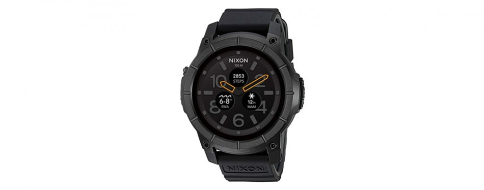 nixon mission action smart watch