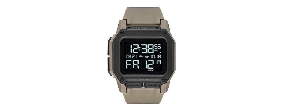 nixon regulus men's digital watch