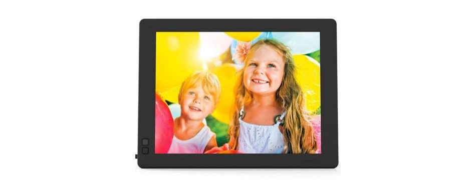 nixplay seed ultra 2k high definition wi-fi 10 inch digital picture frame