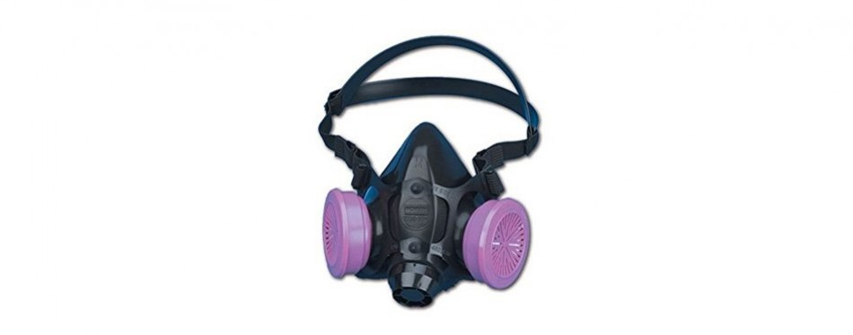 north safety 770030l 7700 series half mask respirator