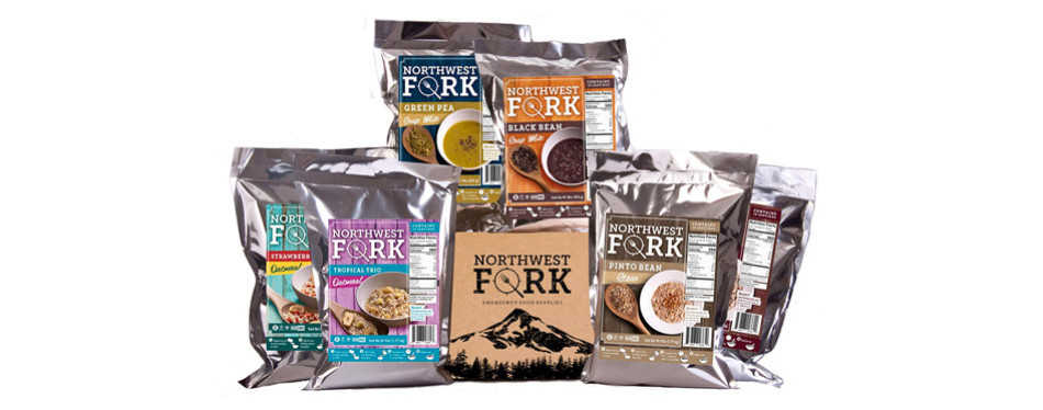 northwest fork kosher, non-gmo emergency food kit
