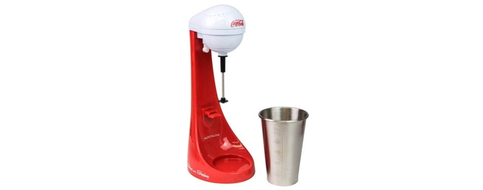 nostalgia mlks100coke coca-cola limited edition milkshake maker