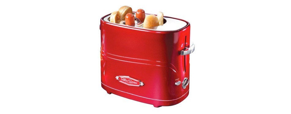 nostalgia retro series pop-up hot dog toaster