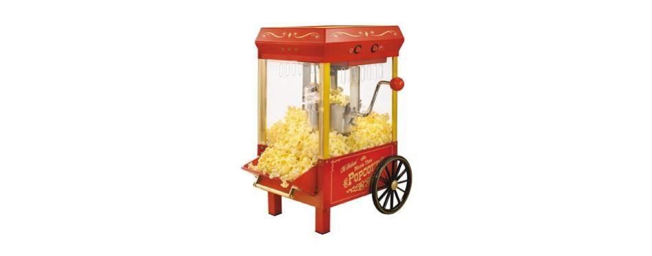 nostalgia vintage kettle popcorn maker