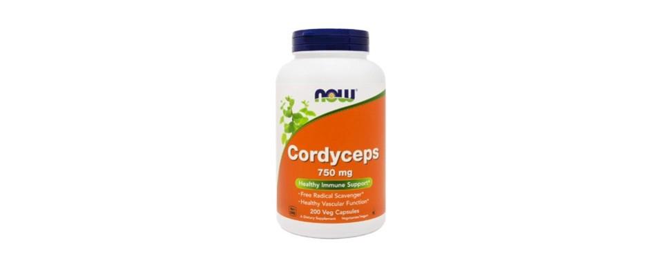 now foods cordyceps 200 vegan caps